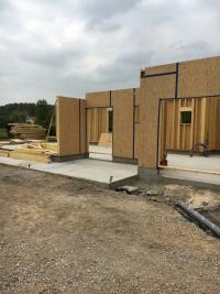 Construction maison en bois à Groffliers près de berck