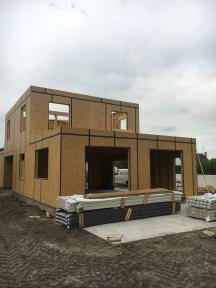 Construction maison en bois près de Berck