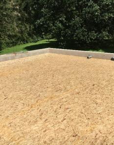 Charpente toiture plate sur St Josse.