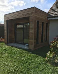 Extension bois sur Merlimont.